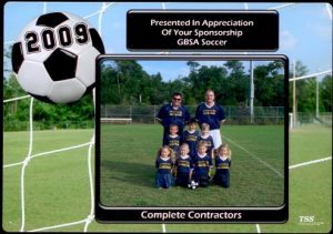 Gulf Breeze Soccer Association 2009 (Head Coach of Hammerheads)
