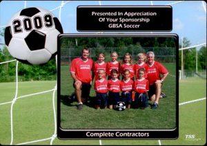 Gulf Breeze Soccer Association 2009
