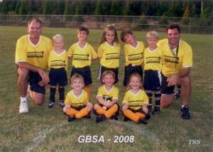 Gulf Breeze Soccer Association 2008 (Head Coach of Hammerheads)