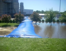 Flood retention product by Whipp Systems