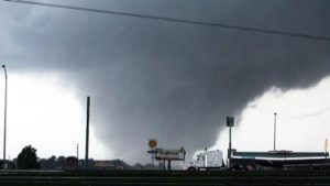 Tornado near Tuscaloosa