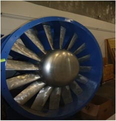 hp fan at the IIBHS Research Facility