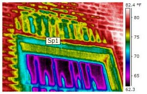 Thermal imaging technology used by Complete.