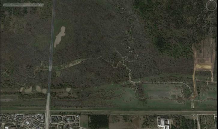 Addicks Reservoirin Houston